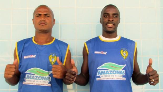 Dois novos contratados pelo Nacional (Foto: Divulgação/Nacional)