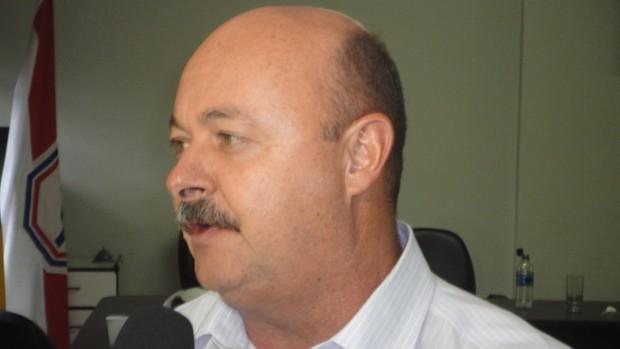 fernando pazotti, secretário de esporte e lazer de rio verde (Foto: Fernando Vasconcelos/GLOBOESPORTE.COM)