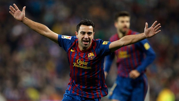 xavi real madrid x barcelona (Foto: Reuters)