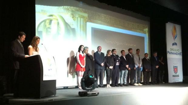 Prêmio Orgulho Paranaense (Foto: Gabriel Hamilko / GLOBOESPORTE.COM)