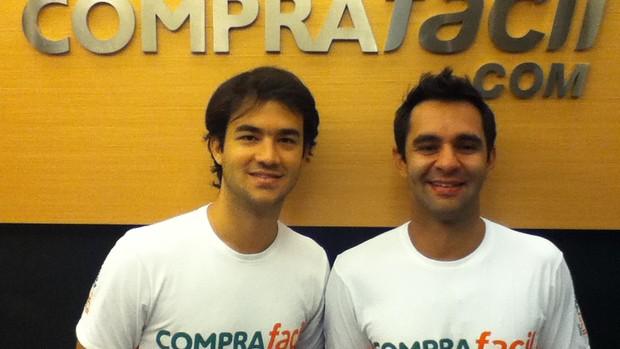 Stock car - Pedro Boesel e Antonio Pizzonia companheiros de equipe na JF Racing em 2012 (Foto: Divulgação)
