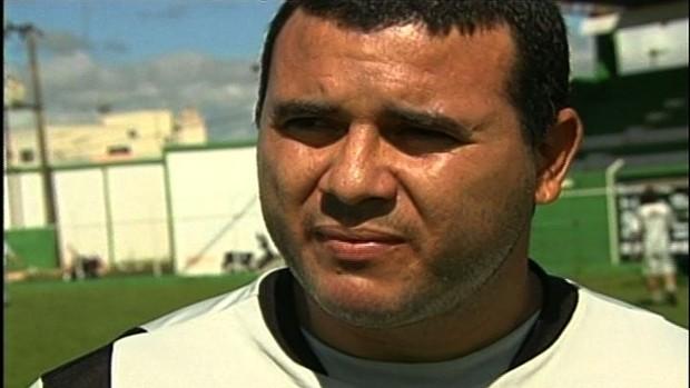 Nonato, atacante do Rio Verde (Foto: Reprodução/TV Anhanguera)