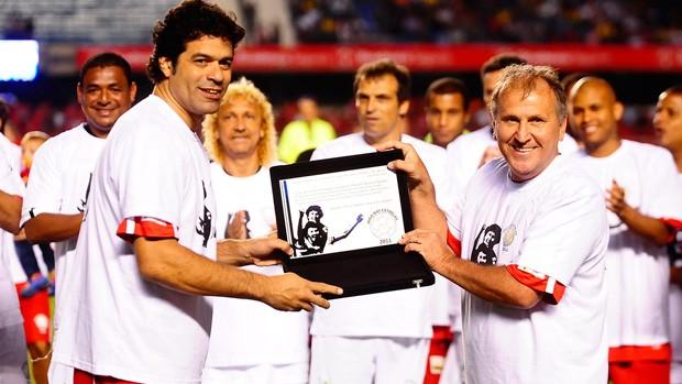Jogo das Estrelas - Raí e Zico (Foto: Marcos Ribolli/Globoesporte.com)