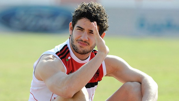 Pato no treino do Milan (Foto: Getty Images)