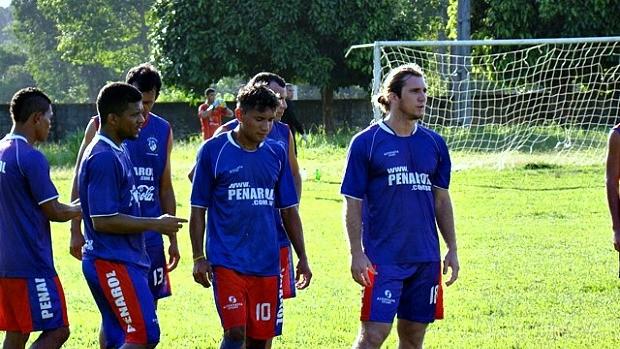 Treino dos jogadores do Penarol (Foto: Divulgação/Penarol)