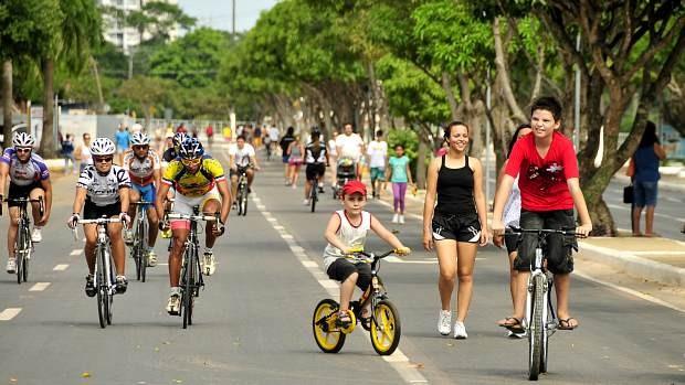 Projeto Faixa Liberada, em Manaus (Foto: Antônio Lima / Semdej)