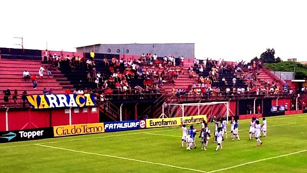 Naça vence por 3 a 2 o Flamengo pela Copa SP (Foto: Divulgação/Nacional)