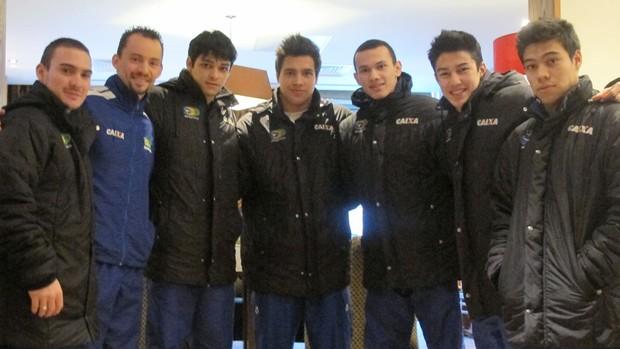 equipe ginástica masculina (Foto: Cahê Mota/Globoesporte.com)