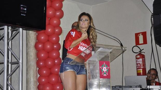 viviane araujo boa esporte (Foto: Lucas Soares / EPTV.com)