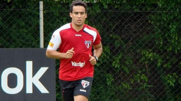 Jadson, do São Paulo (Foto: Divulgação / São Paulo FC)