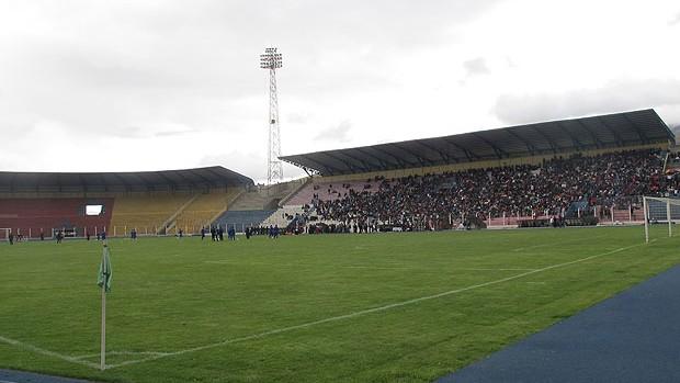 Estádio Victor Agustin Ugarte Potosi (Foto: Richard Souza / Globoesporte.com)