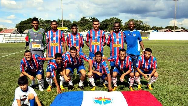 Fast Clube venceu a Seleção de Autazes por 5 a 1 (Foto: Divulgação/Fast Clube)