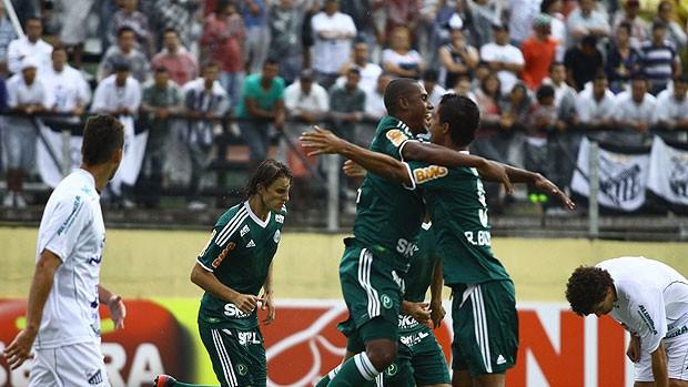 Leandro Amaro gol Palmeiras (Foto: Luis Moura / Ag. Estado)
