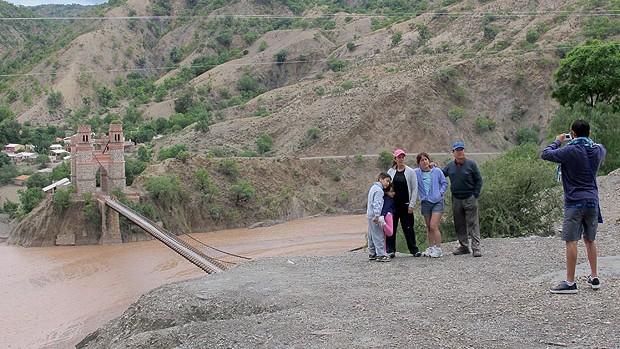 Rio Pilcomayo Potosi (Foto: Richard Souza / Globoesporte.com)