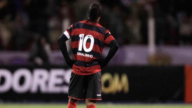 Ronaldinho, Real Potosi x Flamengo (Foto: Reuters)