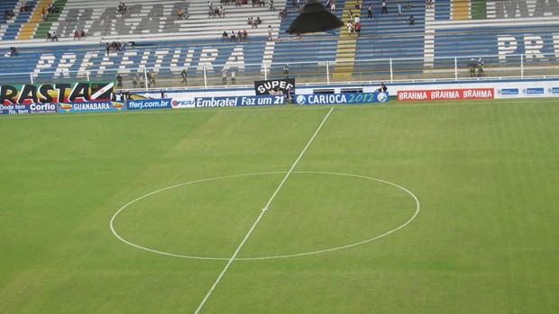 estádio moacyrzão macaé vasco de duque de caxias (Foto: Thiago Fernandes / Globoesporte.com)