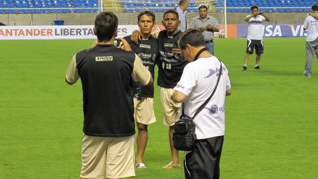 Real Potosi no Engenhão (Foto: Thales Soares/Globoesporte.com)