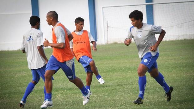 Último treino do Confiança antes de encarar o Lagarto (Foto: Fillipe Araújo/ Divulgação)