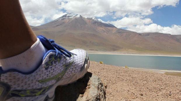 Corrida Moutain Do Deserto do Atacama  (Foto: Arquivo pessoal)