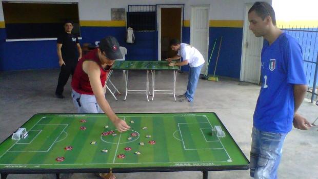 Futebol de Mesa (Foto: Reprodução/Facebook)