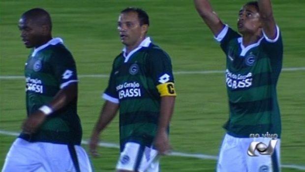 Itumbiara x Goiás Goianão (Foto: Reprodução/TV Anhanguera)