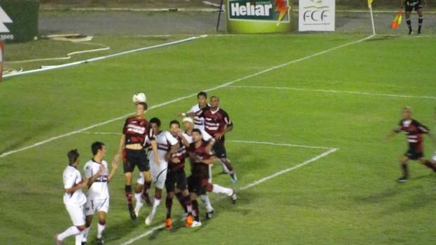 Guarany de Sobral x Ferroviário pela 5ª rodada do Campeonato Cearense de 2012 (Foto: Divulgação/Guarany de Sobral)