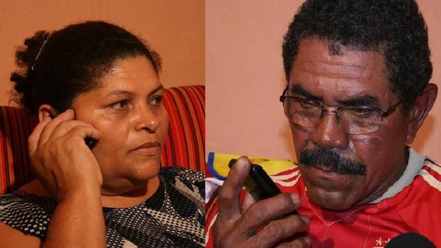 Pais de Fábio Júnior conseguem falar com ele  (Foto: Felipe Martins/GLOBOESPORTE.COM)
