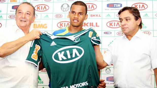 Artur reforço  Palmeiras (Foto: Anderson Rodrigues/Globoesporte.com)