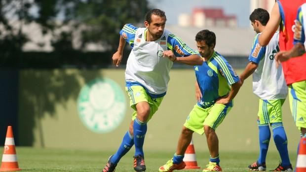 Barcos no treino do Palmeiras (Foto: Anderson Rodrigues/Globoesporte.copm)