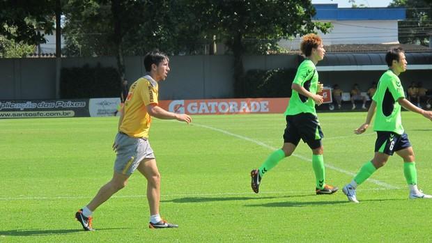 Fucile participou de jogo-treino contra o Jeonbuk (Foto: Marcelo Hazan / Globoesporte.com)