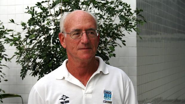 Richard Powers - ex-técnico de natação (Foto: Felipe Martins/GLOBOESPORTE.COM)