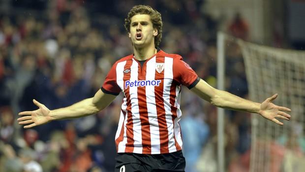 Fernando Llorente gol Atlético de Bilbao (Foto: AFP)