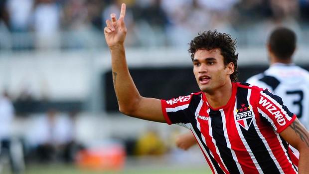 Willian José gol São Paulo (Foto: Marcos Ribolli / Globoesporte.com)