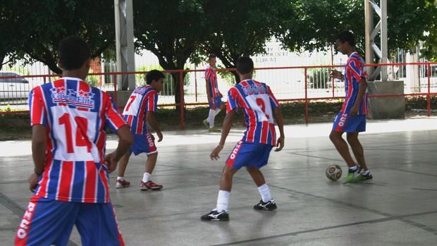 Colégio Elite - Sergipe - participará do brasileiro escolar (Foto: Felipe Martins/GLOBOESPORTE.COM)