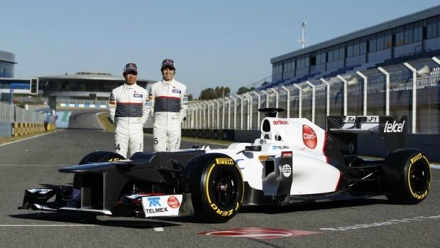Formula 1 Sauber lançamento carro 2012 (Foto: Reuters)