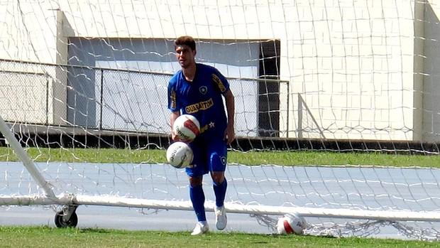 fellype gabriel botafogo treino (Foto: André Casado / Globoesporte.com)