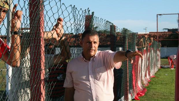 Zé Humberto comanda o Sergipe nesta quarta (3) (Foto: Felipe Martins/GLOBOESPORTE.COM)