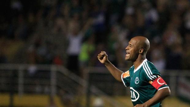 Marcos Assunção gol Palmeiras (Foto: Rahel Patrasso / Ag. Estado)