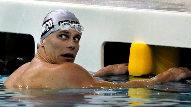 Cesar Cielo missouri Natação (Foto: AP)