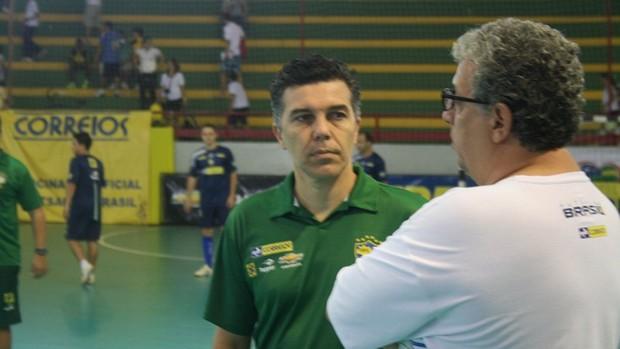 Marcos Sorato, treinador do Brasil (Foto: Thiago Barbosa/GLOBOESPORTE.COM)