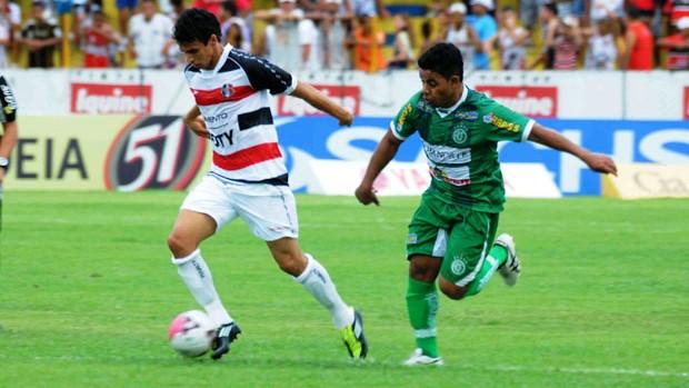 América-PE X Santa Cruz (Foto: Aldo Carneiro)