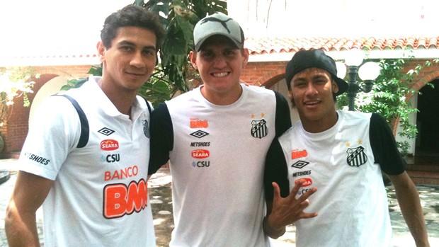 ganso neymar rafael santos (Foto: Janir Junior/Globoesporte.com)