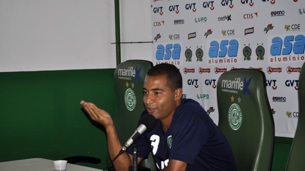Wellington Monteiro, volante do Guarani (Foto: Heitor Esmeriz/Globoesporte.com)