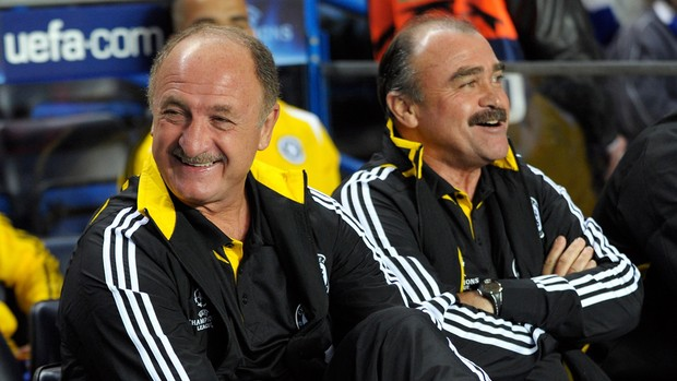 Felipão Scolari Murtosa Shelsea (Foto: Getty Images)