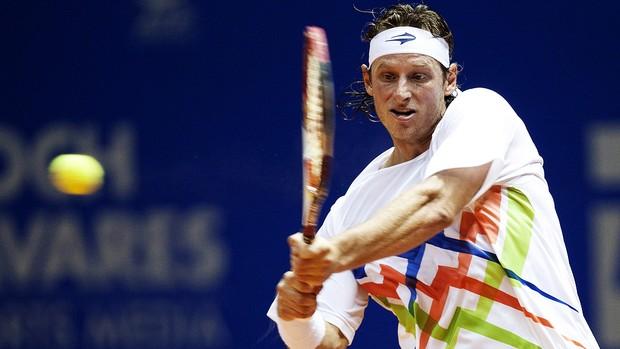 David Nalbandian brasil open tênis (Foto: EFE)