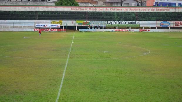 Barretão (Foto: Thiago Barbosa/GLOBOESPORTE.COM)