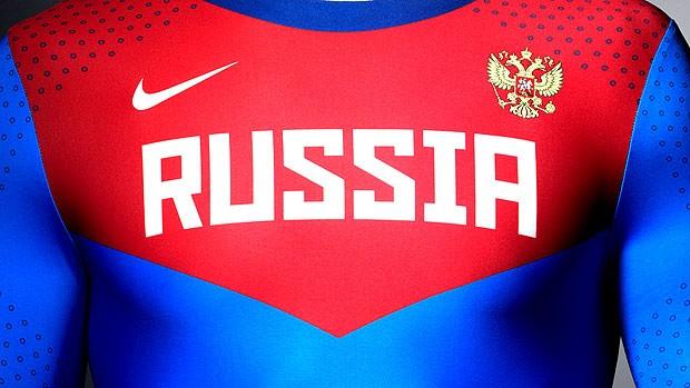 Supermaiôs atletismo Nike uniforme Russia (Foto: Divulgação / Site Oficial)