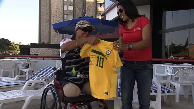 Reencontro Marta Carol Basílio seleção brasileira acidente 2 (Foto: Reprodução SporTV)