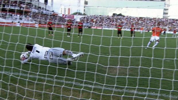 Magrão, goleiro do Sport (Foto: Reprodução / TV Globo)