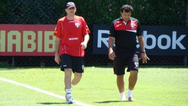 Rogério Ceni treino São Paulo (Foto: Luiz Pires / Vipcomm)